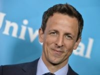 "FILE - This July 13, 2014 file photo shows Seth Meyers at the NBC 2014 Summer TCA held at the Beverly Hotel in Beverly Hills, Calif. Meyers has a secure late-night seat at NBC for another five years. The network announced Wedneday, Jan. 13, 2016, that the ""Saturday Night Live"" …"