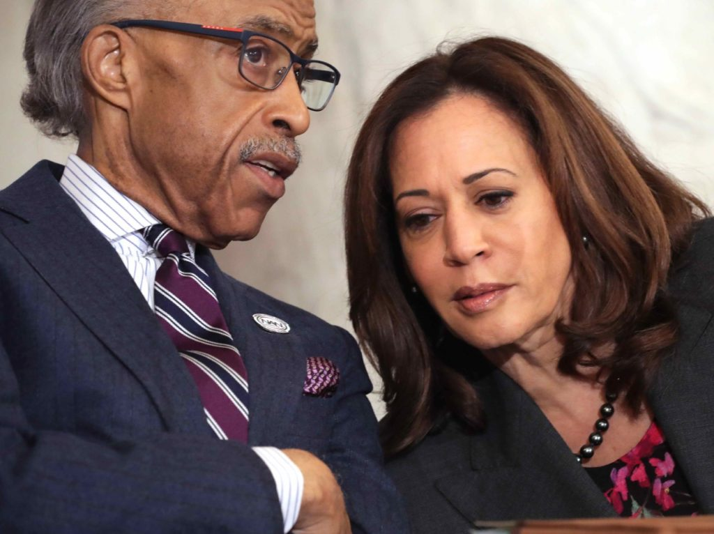 Sharpton Kamala Harris (Chip Somodevilla / Getty)