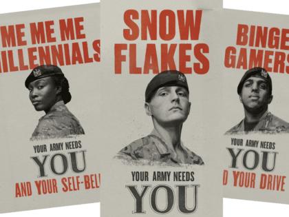Snowflakes Army