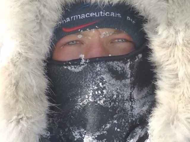 South Pole explorer Scott Sears
