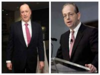 Steven Brill and Gordon Crovitz, co-CEOs of NewsGuard