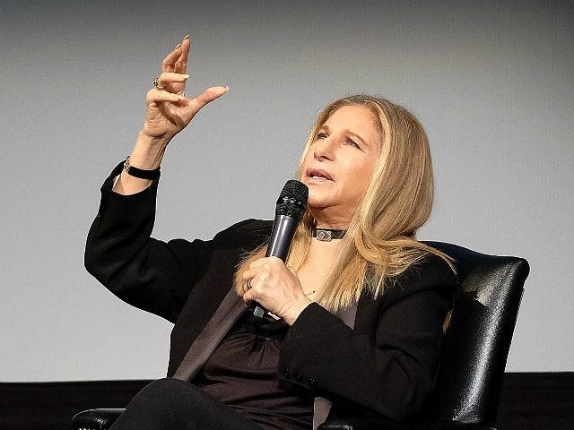 NEW YORK, NY - APRIL 29: Barbra Streisand attends Tribeca Talks: Barbra Streisand with Robert Rodriguez during the 2017 Tribeca Film Festival at BMCC Tribeca PAC on April 29, 2017 in New York City. (Photo by Dia Dipasupil/Getty Images for Tribeca Film Festival)