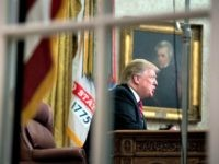 U.S. President Donald Trump speaks to the nation in his first-prime address from the Oval Office of the White House on January 8, 2019 in Washington, DC. A partial shutdown of the federal government extended to 17 days following the president's demand for $5.7 billion for a border wall while …