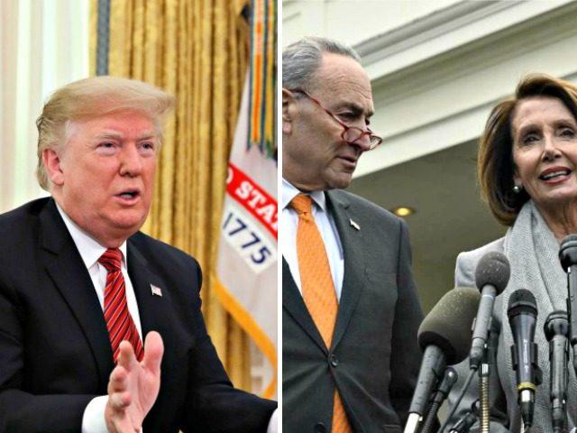 Trump, Chuck, Nancy,