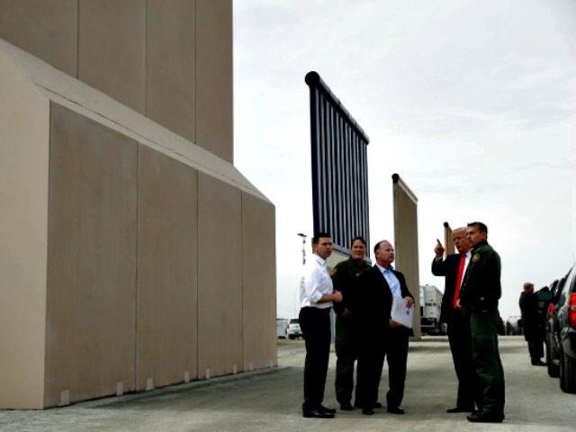Trump, Wall Prototypes