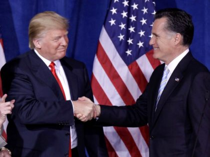 Trump endorses Romney (AP Photo/Julie Jacobson, File)