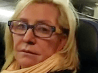 US plane passenger's epic meltdown when she's sat between 'two big pigs' captured on video