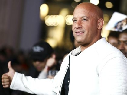 """Vin Diesel arrives at the LA Premiere of """"xXx: Return of Xander Cage"""" at TCL Chinese Theater IMAX on Thursday, Jan. 19, 2017, in Los Angeles. (Photo by Rich Fury/Invision/AP)"""