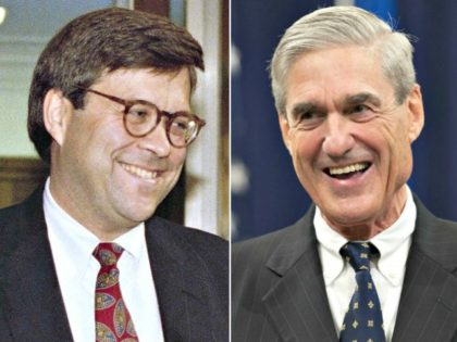 William Barr, Robert Mueller