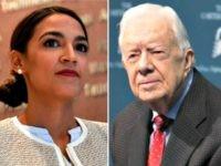 alexandria-ocasio-cortez, Jimmy Carter