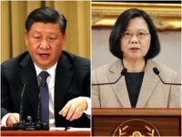 China President Xi Jinping Taiwan President Tsai Ing-wen