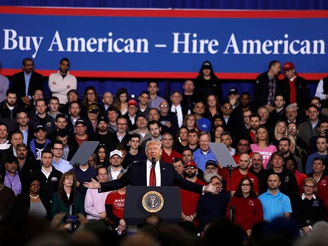 WashPost Admits Trump's Economy Aiding Minorities, Women | Breitbart