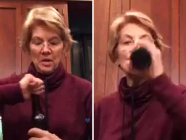 Warren addresses DNA test during first trip to Iowa