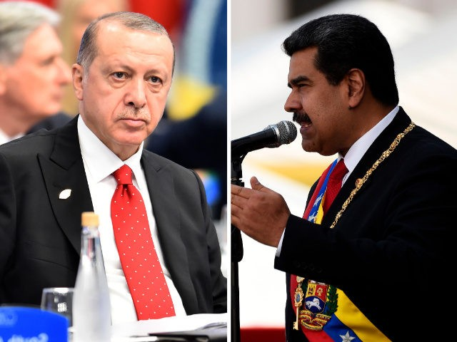 Turkey's Erdogan 'Maduro Brother Stand Tall' in Venezuela		FEDERICO PARRA Amilcar Orfali  Getty Images24 Jan 2019
