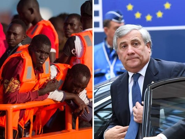 eu-parliament-boss-antonio-tajani-and-migrants