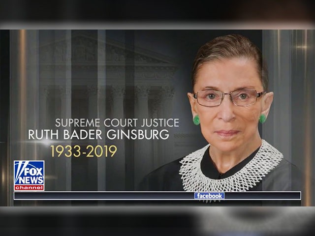 Fox News sorry for briefly airing obituary graphic for Ruth Bader Ginsburg
