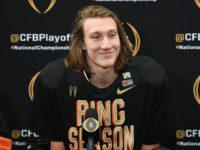 WATCH: Clemson QB Trevor Lawrence Was a Big Fan of Trump's Fast Food Feast