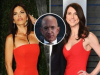 jeff bezos lauren sanchez and Bezos' wife Mackenzie