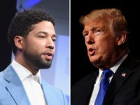 Donald Trump Challenges Jussie Smollett for 'Racist and Dangerous Comments'