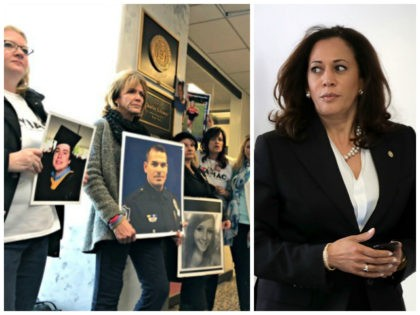 Exclusive–Angel Mom: Kamala Harris' Staff Threatened to Call Capitol Police When Angel Families Visited Her Office