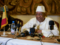 Mali Prime Minister Soumeylou Boubeye Maiga addresses the press during a conference in Mopti on October 13, 2018. (Photo by MICHELE CATTANI / AFP) (Photo credit should read MICHELE CATTANI/AFP/Getty Images)