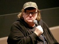 NEW YORK, NY - OCTOBER 04: Director Michael Moore speaks at the 53rd New York Film Festival - Directors Dialogue: Michael Moore at Elinor Bunin Munroe Film Center on October 4, 2015 in New York City. (Photo by Paul Zimmerman/Getty Images)