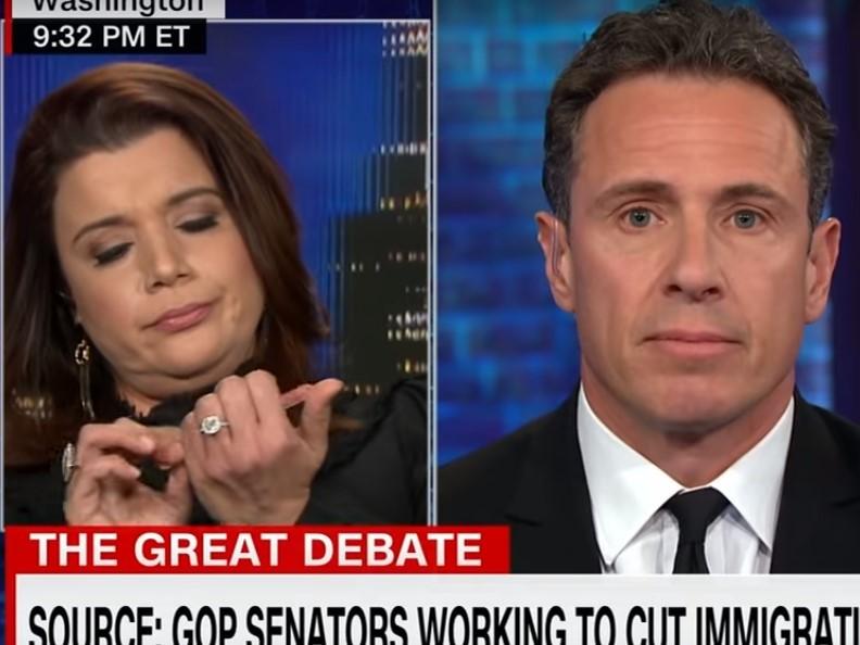 Watch: CNN's Navarro Files Nails During Border Wall Debate
