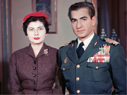 Muhammad Reza Pahlavi, the Shah of Iran (1919 - 1980), poses with his second wife Queen Soraya (Soraya Esfandiari) whom he divorced for failing to produce an heir, 1958. Soraya Esfandiari died at the age of 69 October 25, 2001 in Paris. (Photo by Getty Images)