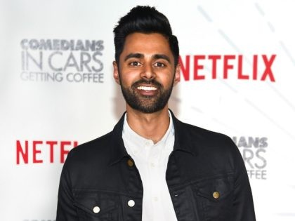 NEW YORK, NY - JUNE 25: Comedian Hasan Minhaj attends Comedians in Cars Getting Coffee - New York Event at Classic Car Club Manhattan on June 25, 2018 in New York City. (Photo by Dimitrios Kambouris/Getty Images for Netflix)