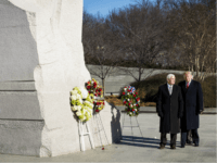 Donald Trump and Mike Pence Visit Martin Luther King Jr. Memorial