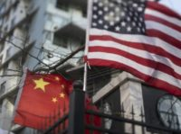 Global investors have cited the US-China trade war as a factor rattling markets