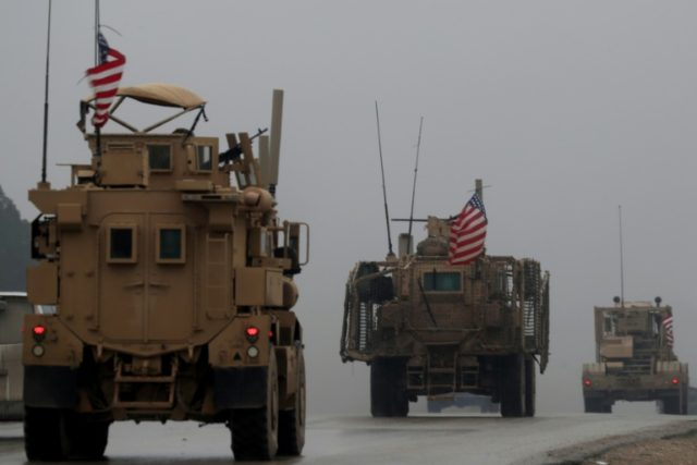 US begins withdrawing gear from Syria, but not its troops