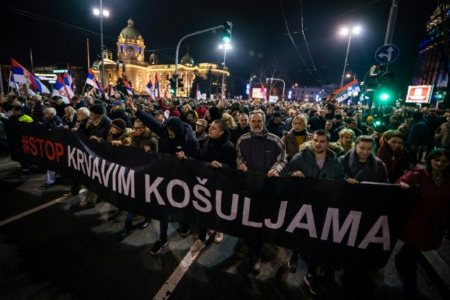 Mood of revolt in Serbia as anti-Vucic protests grow