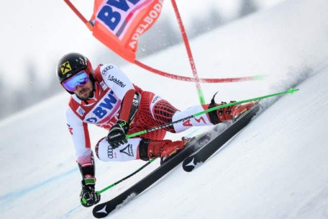Hirscher trumps Kristoffersen in Adelboden giant slalom