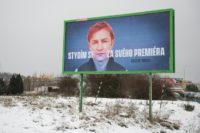 Czech PM targeted by billboards of 'shame'