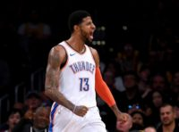 George powers Thunder over 76ers in NBA thriller