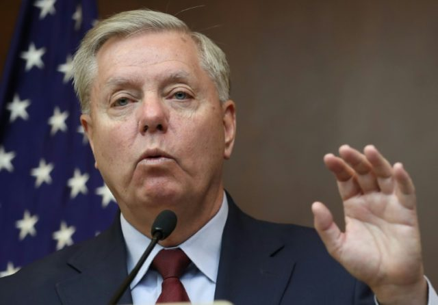 US Senator Lindsey Graham warned that thousands of Islamic State jihadists still 'lurk' in Syria