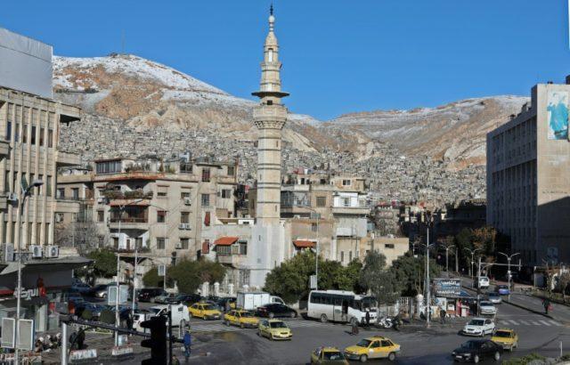 Bomb blast Rocks Damascus