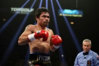 Pacquiao on the mend after scratched cornea