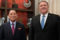 Pompeo talks N.Korea with Tokyo and Seoul