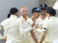 Stokes double blow checks bright West Indies start