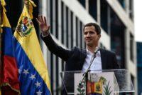Venezuela opposition leader names self 'acting president'