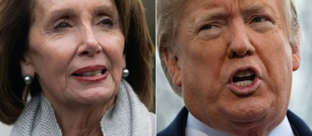 War of words rages as Pelosi blocks Trump's speech to Congress