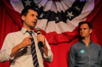 Pete Buttigieg, mayor of South Bend, Indiana, is making a longshot bid to be the Democratic nominee in the 2020 presidential elections