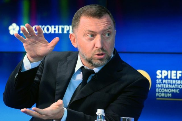 Oleg Deripaska, the billionaire who who heads aluminium producer Rusal, remains the target of personal sanctions