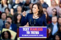 Kamala Harris launches White House bid in America 'under attack'