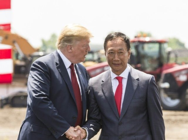 Foxconn 'adjusting' Wisconsin factory plans hailed by Trump