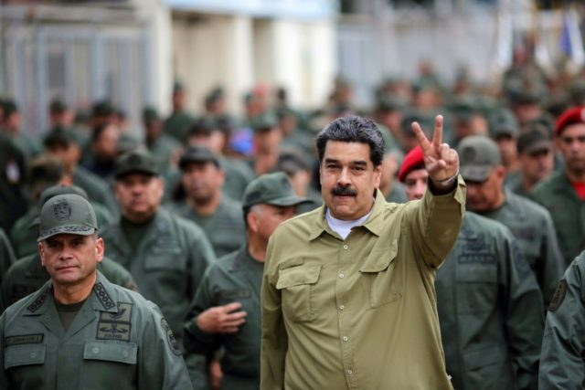 Maduro rallies military as Venezuela opposition plans protest