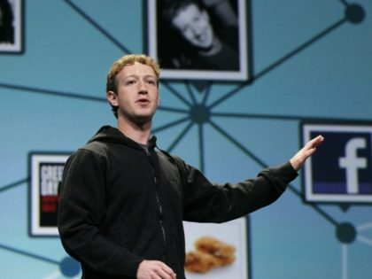 Mark Zuckerberg is seen in 2010, with Facebook already the largest online social network but before its stock market debut