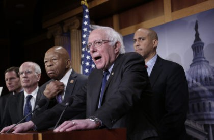 Bernie Sanders, Elijah Cummings, Cory Booker, Peter Welch, Richard Blumenthal